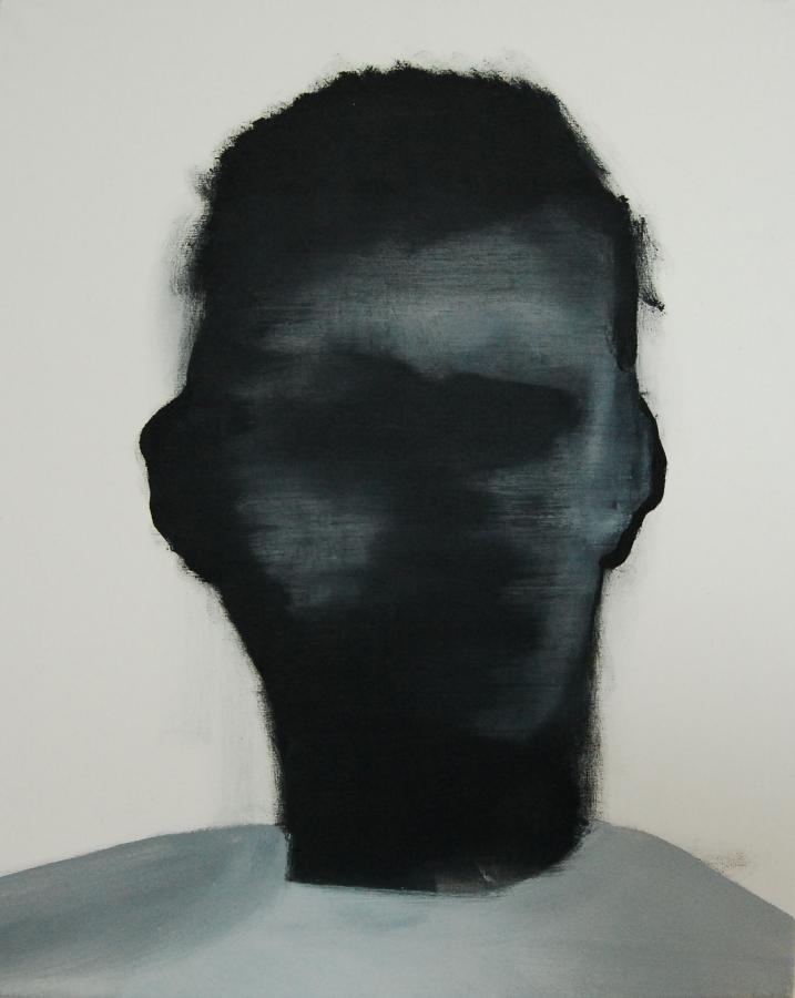 """""""Szkice do portretu 29"""", Cezary Bednarczyk, olej na płótnie, 50x40 cm"""