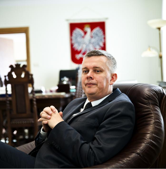 Tomasz Siemoniak, ustępujący minister obrony narodowej fot. Wojciech Górski