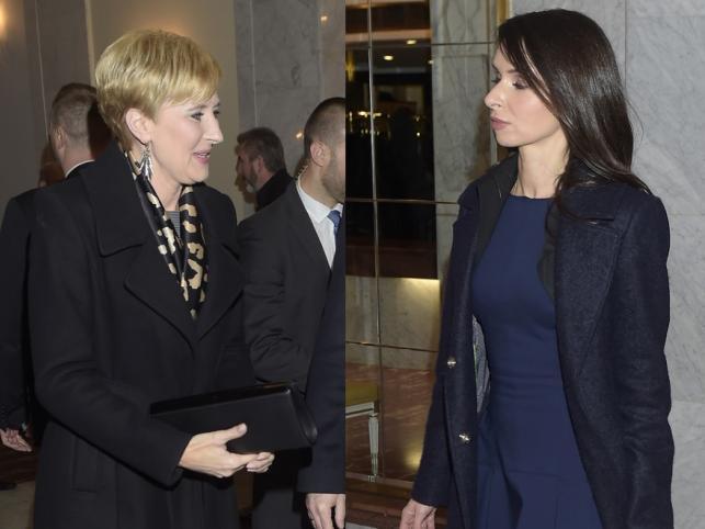 Agata Kornhauser-Duda i Marta Kaczyńska