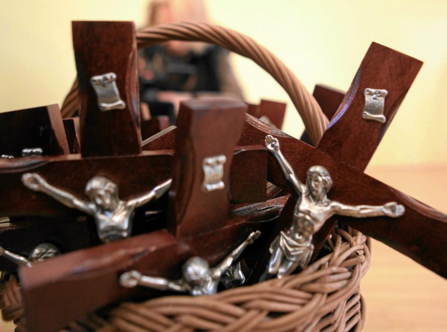 Krzyże, które zostaną powieszone w klasie