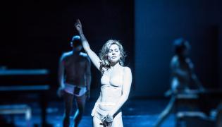 """Spektakl """"Śmierć i dziewczyna"""" Fot. Natalia Kabanow"""