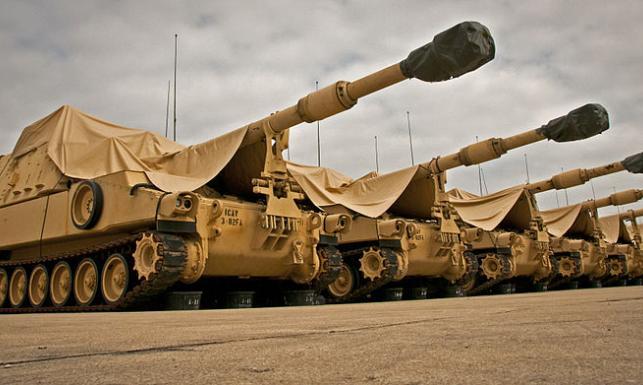 Najlepsza na świecie haubica stanie na straży wschodnich granic NATO