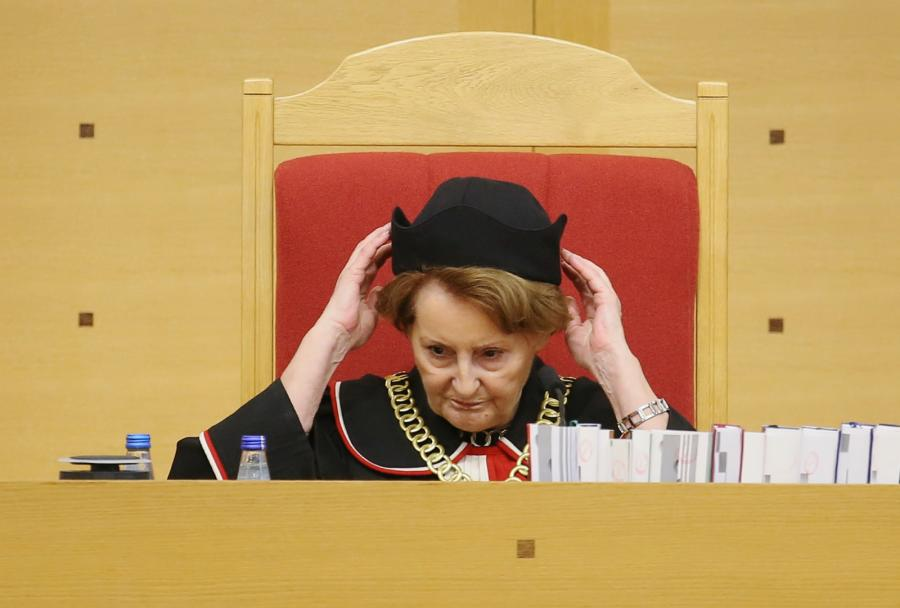 Sędzia Sławomira Wronkowska-Jaśkiewicz