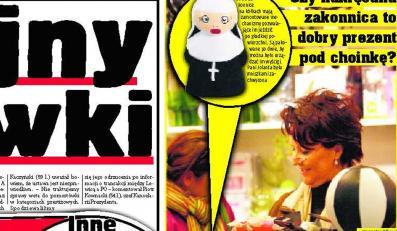 Kwaśniewska kupiła zakonnice na kółkach