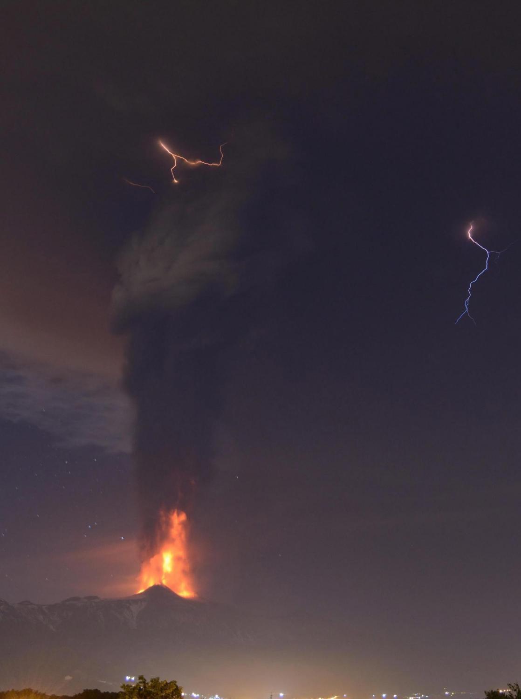 Wulkan Etna się obudził