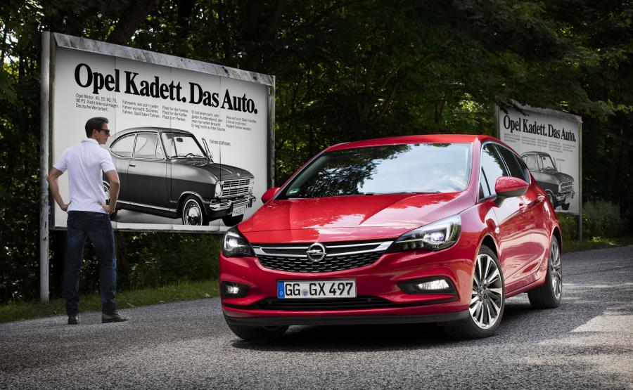 Opel astra - 3. miejsce