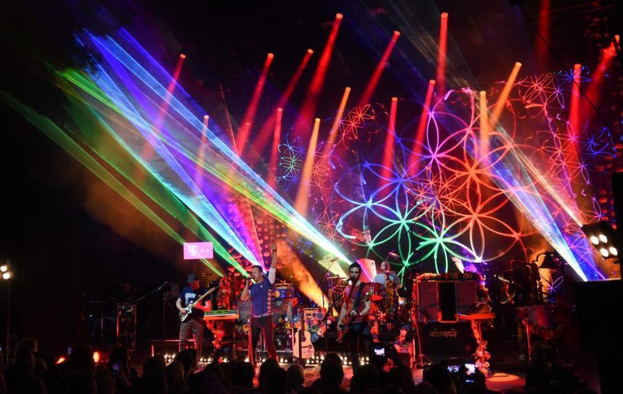 Coldplay ruszył w trasę. Koncert w niemieckim Offenbach (8.12.2015)