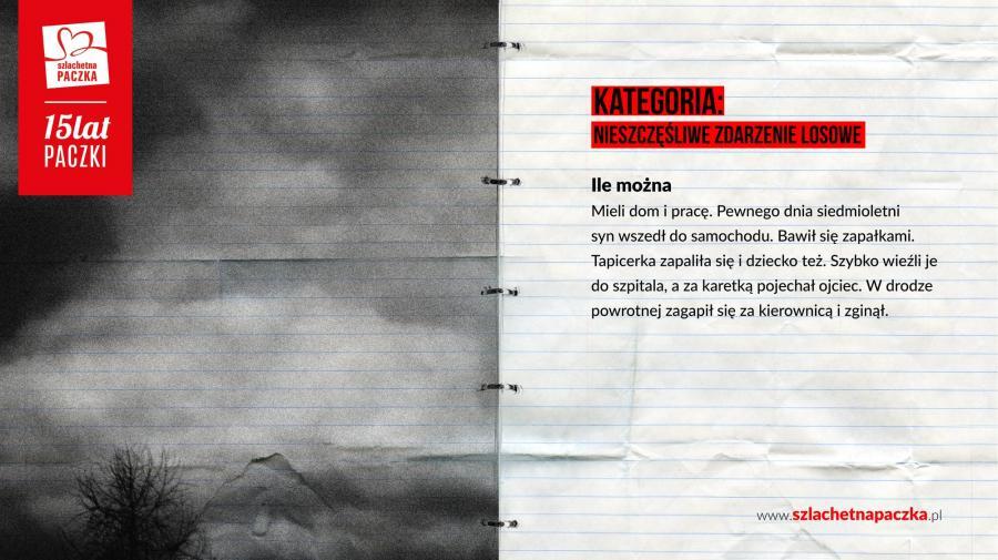 SZLACHETNA PACZKA: Raport o biedzie