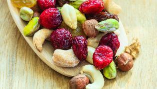 Orzechy i suszone owoce