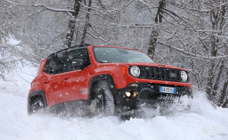 Jeep renegade - dzielny jak więksi bracia