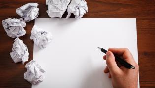 Trud pisania