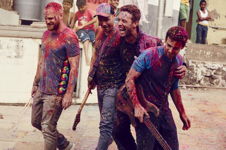 Coldplay niespodziewanie udostępnił nowy teledysk