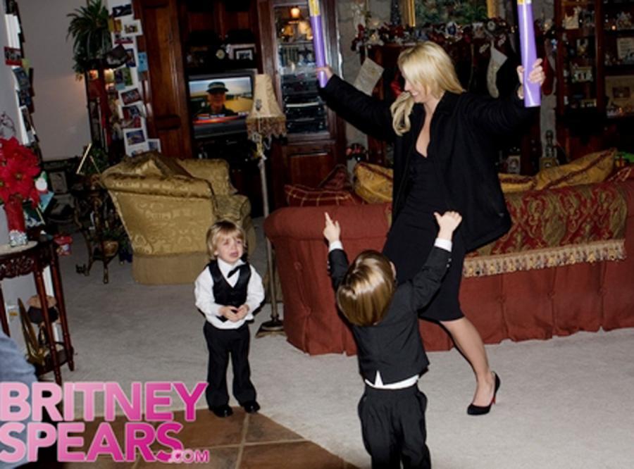 Zobacz szczęśliwą Britney z rodziną!