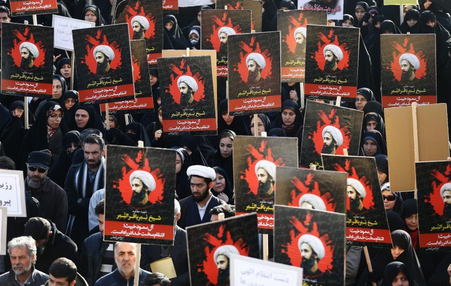 Antysaudyjska demonstracja w Iranie