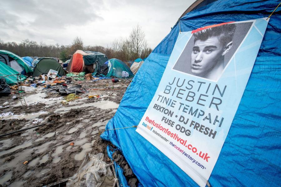 Plakat Justina Biebera