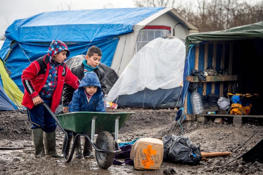 Obóz dla uchodźców Grande-Synthe