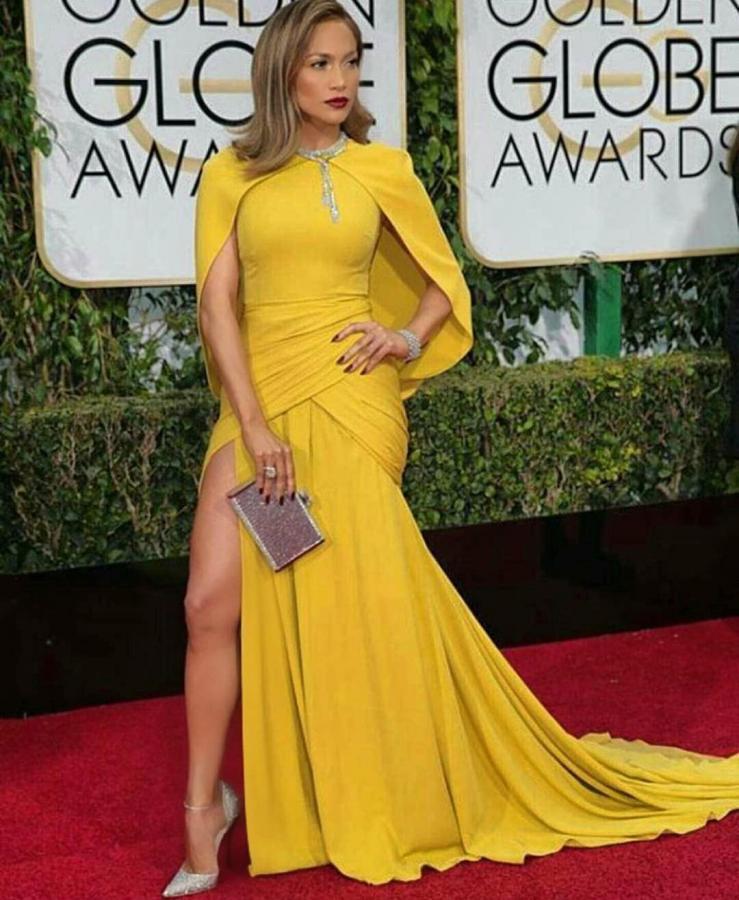 Jennifer Lopez królową czerwonego dywanu