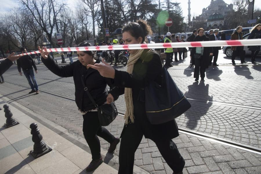 Eksplozja w Stambule