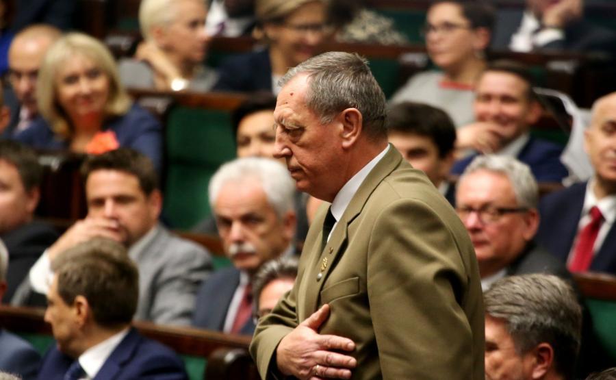 Jan Szyszko w Sejmie
