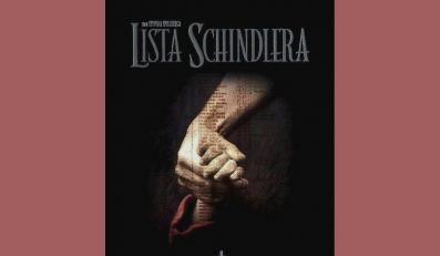 "Plakat filmu ""Lista Schindlera"""