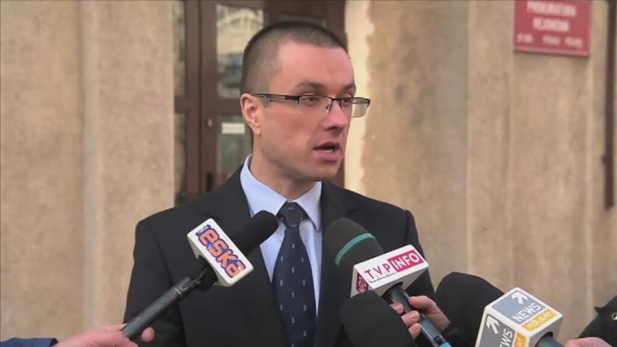 Artur Oniszczuk z prokuratury rejonowej na Pradze-Północ