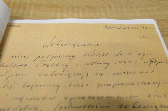 """Pierwsza partia dokumentów dotyczących TW """"Bolka"""""""