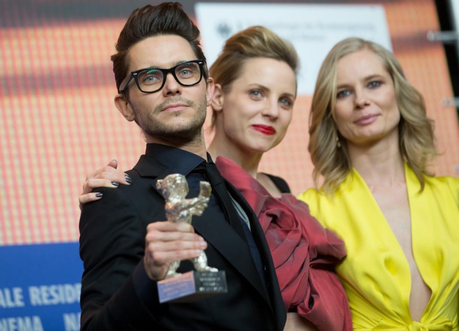 Tomasz Wasilewski, Magdalena Cielecka i Julia Kijowska na Berlinale