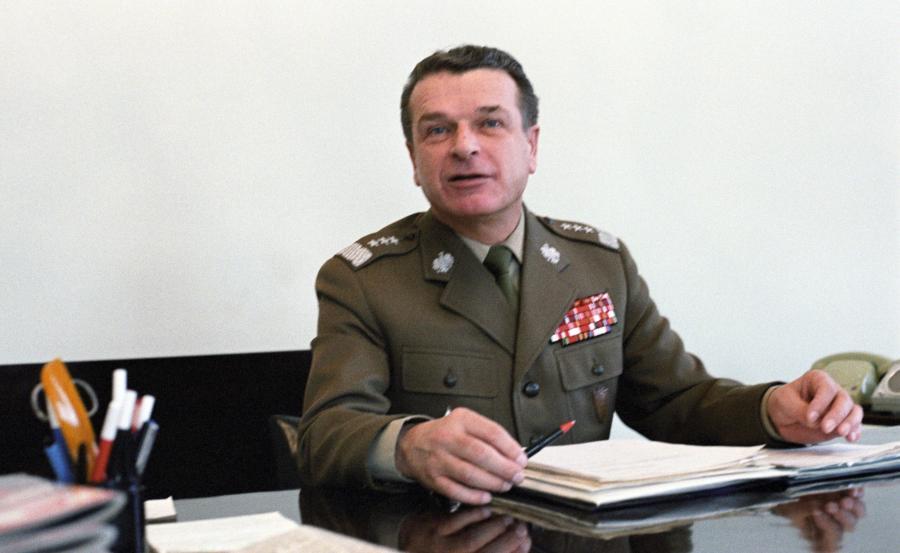 Gen. Czesław Kiszczak w 1984 roku