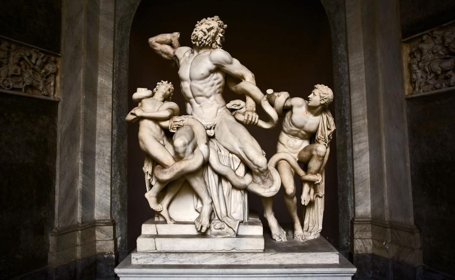 Grupa Laokona, Muzeum Watykańskie