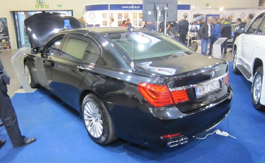 BMW 760Li High Security