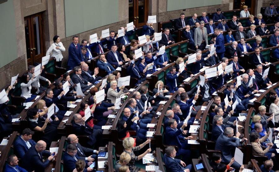 #RządziePublikuj. Akcja opozycji w Sejmie