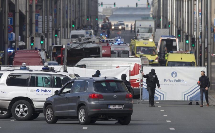 Zamach w Brukseli