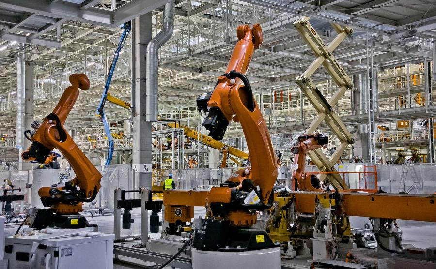 Nowa fabryka Volkswagena w Białężycach pod Wrześnią