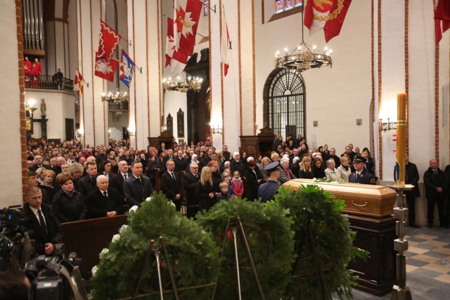Pogrzeb posła PiS Artura Górskiego