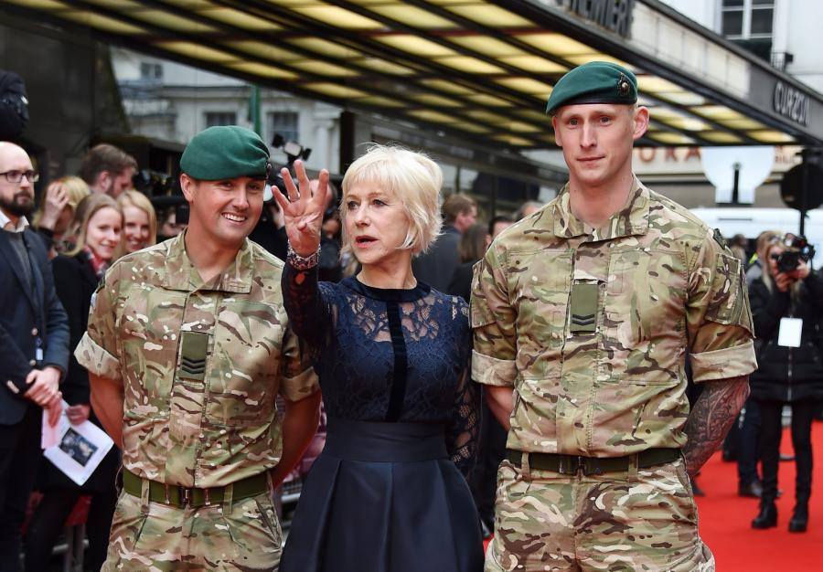"Helen Mirren na premierze ""Eye in the Sky"""