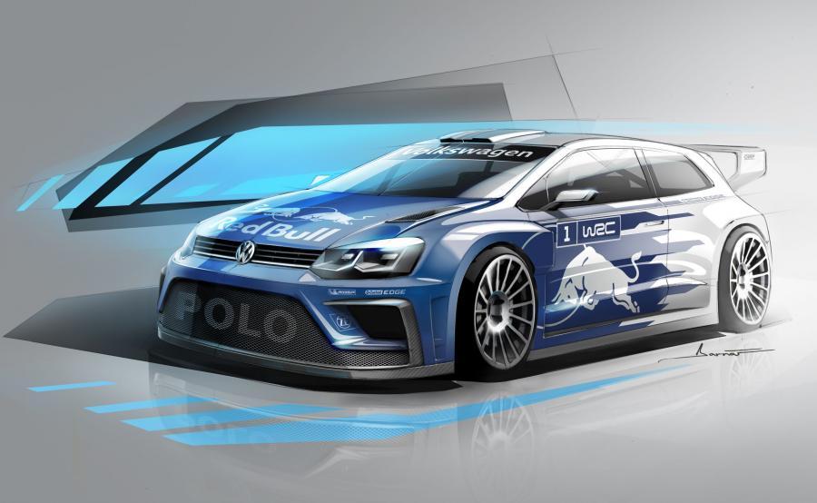 Volkswagen polo R WRC na 2017 rok