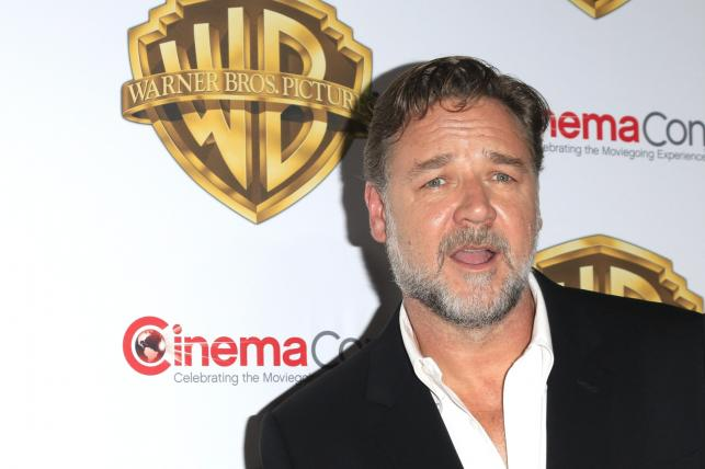 Russell Crowe na CinemaCon 2016