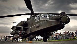 AH-64 Apache na pokazie Air Show w Radomiu