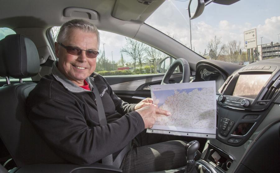 Felix Egolf w teście spalania sprawdzał w warunkach drogowych, czy producent nie przesadził z obietnicami