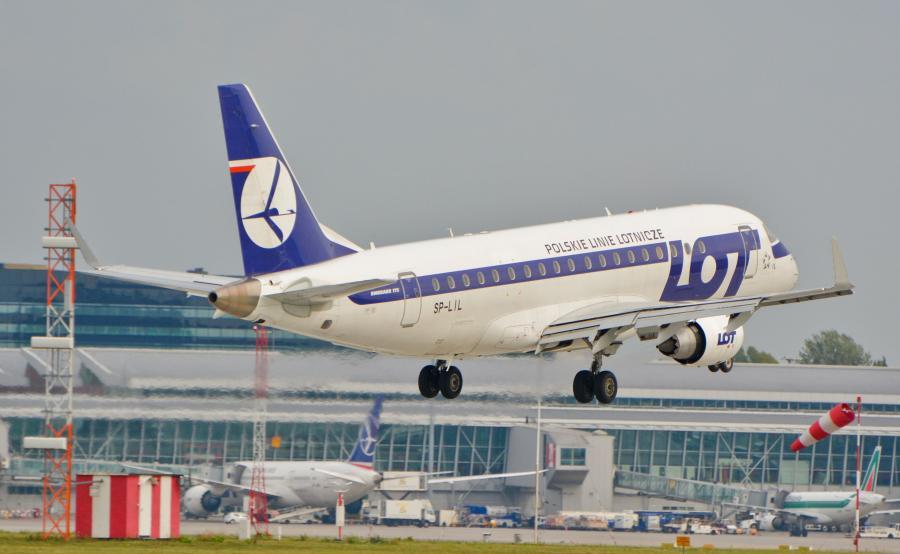Samolot PLL LOT