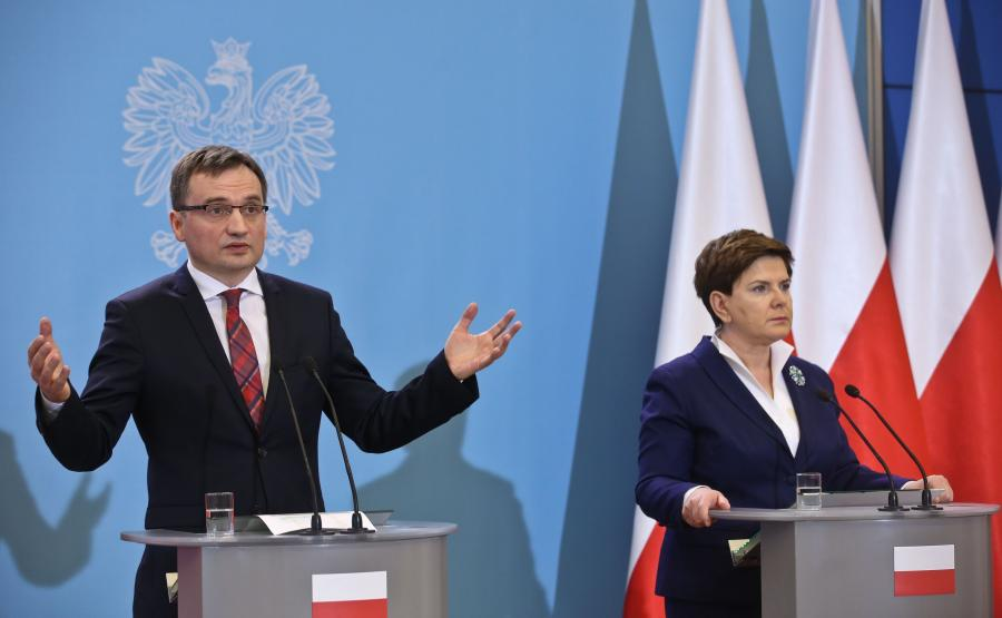 Zbigniew Ziobro i Beata Szydło