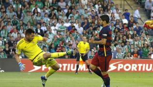 Luis Suarez i Antonio Adan