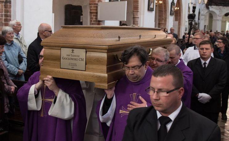 Pożegnanie abp Gocłowskiego