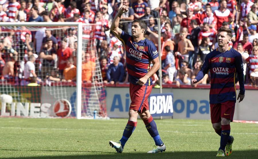 Luis Suarez z FC Barcelony