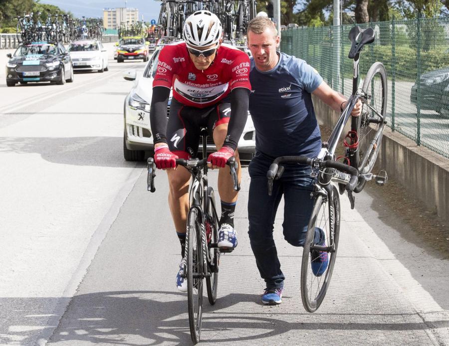 Marcel Kittel wycofał się po ósmym etapie z Giro d\'Italia