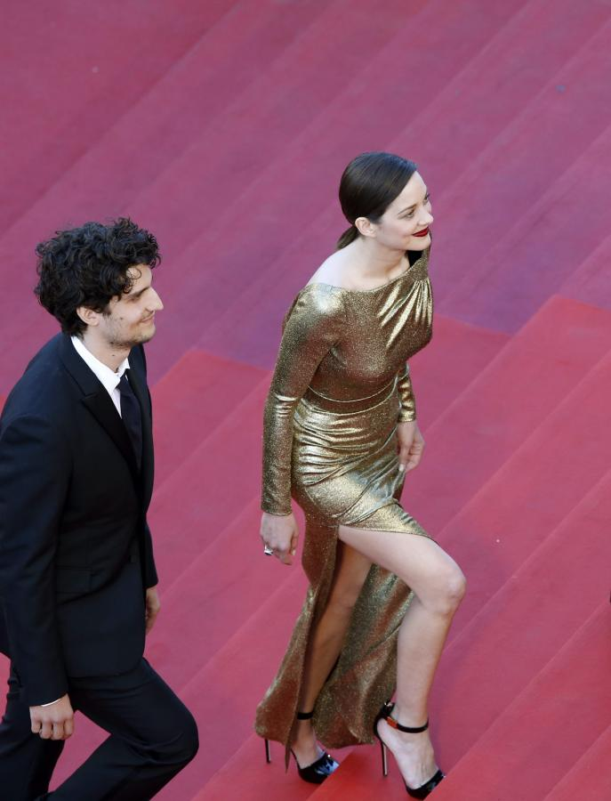"Samo złoto! Marion Cotillard na premierze filmu ""Mal de Pierres"" (""From the Land of the Moon"")"