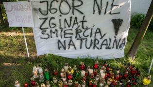 Protest po śmierci Igora