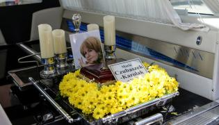 Pogrzeb Marii Czubaszek na Powązkach Wojskowych w Warszawie