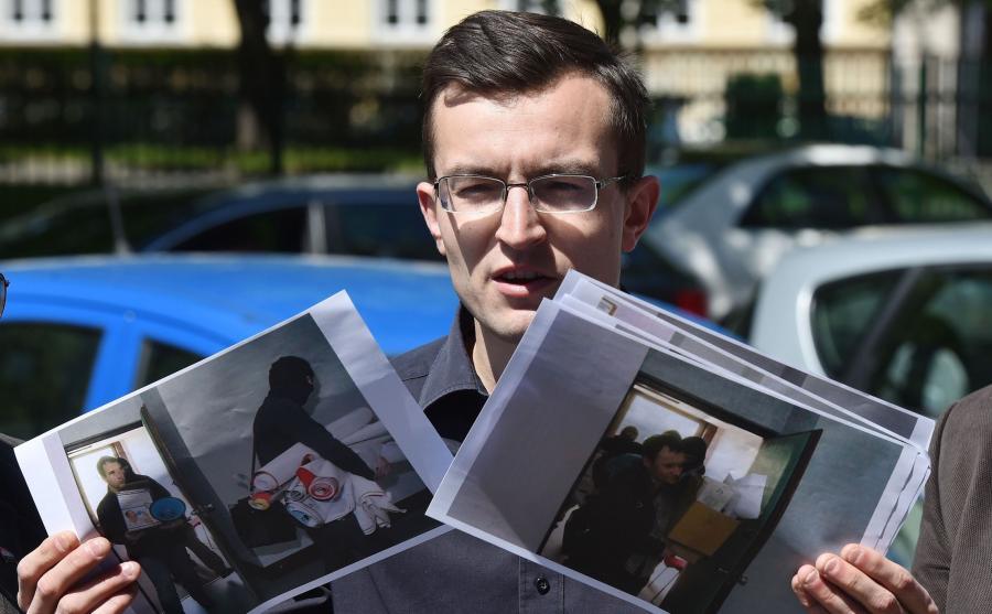Sekretarz partii Zmiana Tomasz Jankowski