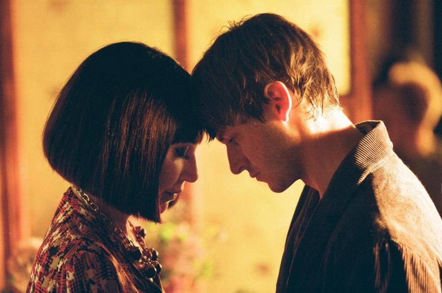 Nathalie Baye i Gaspard Ulliel w filmie \